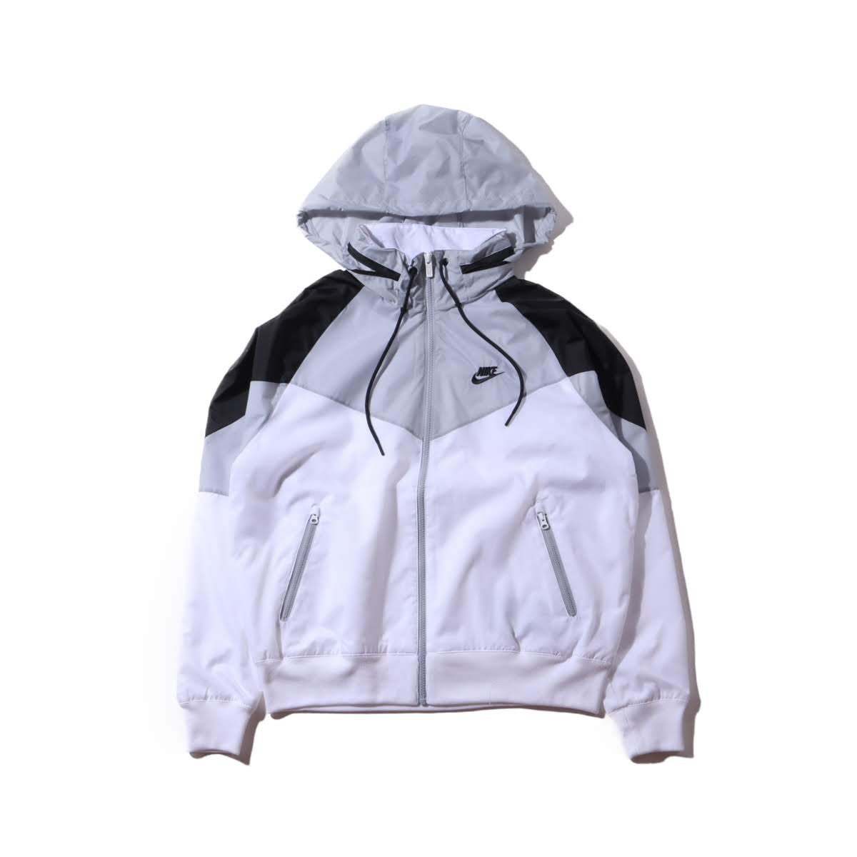NIKE AS M NSW HE WR JKT HD +(ナイキ WR HD ジャケット +)WHITE/WOLF GREY/BLACK/BLACK【メンズ ジャケット】19SP-I