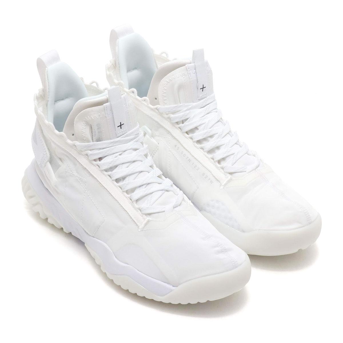 NIKE JORDAN PROTO-REACT (ナイキ ジョーダン プロト リアクト)WHITE/WHITE-WHITE【メンズ スニーカー】19SU-I