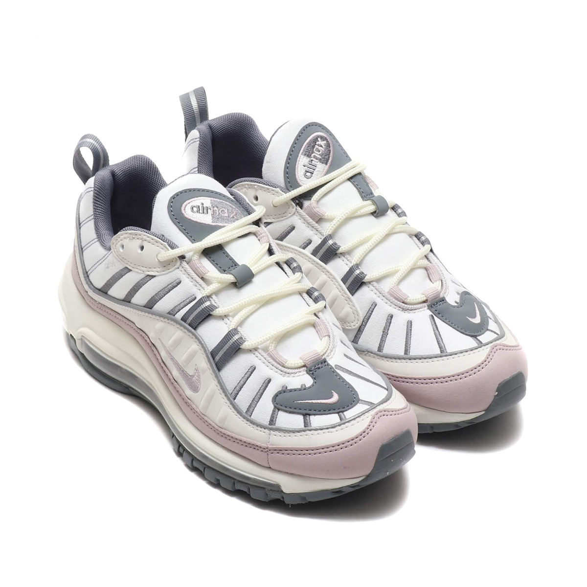 huge selection of be9dc 232f4 NIKE W AIR MAX 98 (Nike women Air Max 98) SMMT WHT/VLT ASH-CL GRY-RFLCT  19SU-I