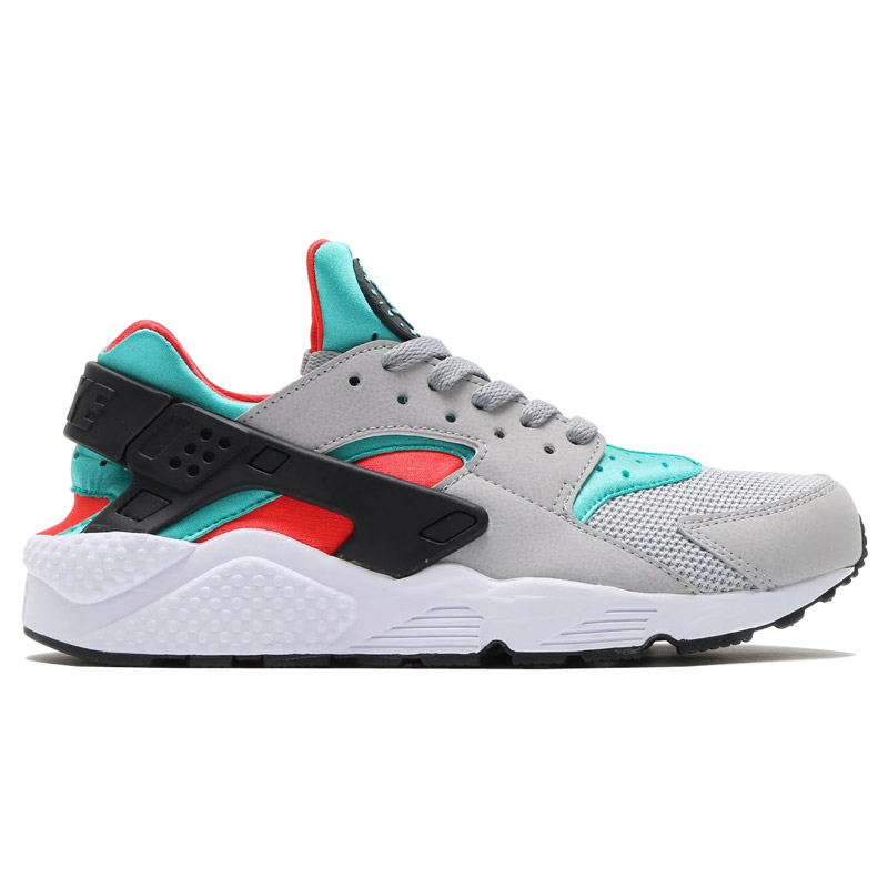 buy online 87975 c83be NIKE AIR HUARACHE (Nike Air halti) FLAT SILVER LIGHT CRIMSON-CLEAR  JADE-HYPER TURQ-BLACK-WHITE 16FA-I