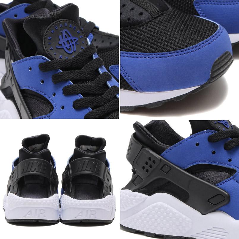 10071695a24 NIKE AIR HUARACHE (Nike Air halti) DEEP ROYAL BLUE BLACK-WHITE 16FA-I