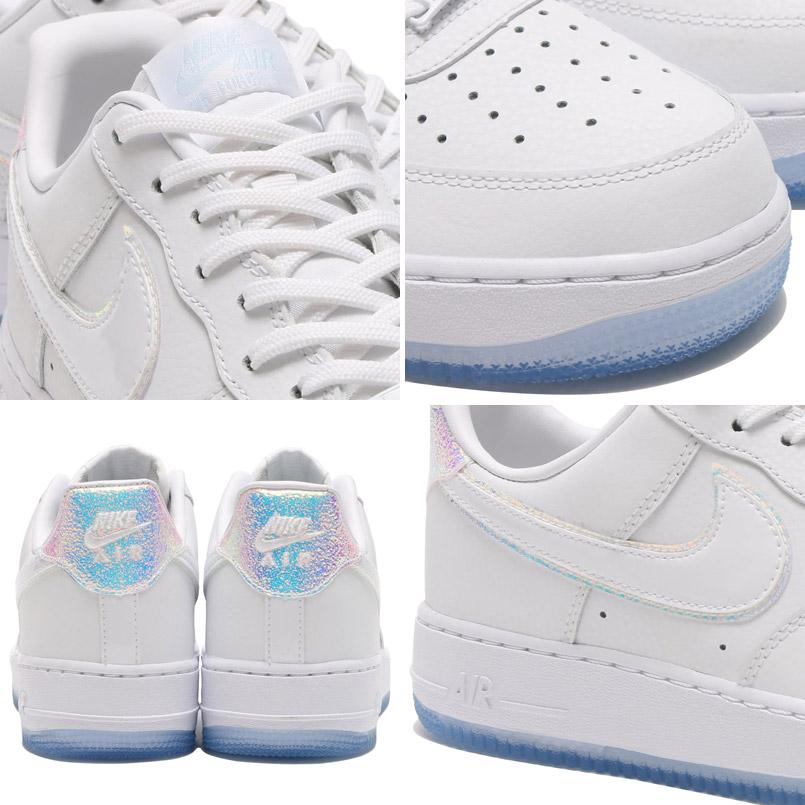 nike air force 1 white blue tint