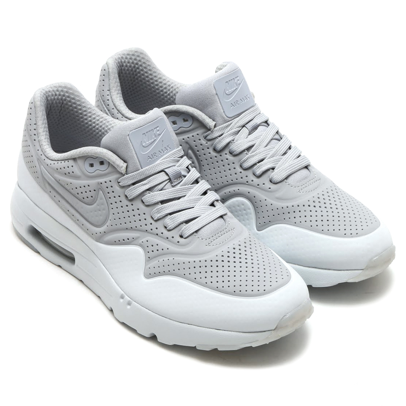 new products 43432 42e06 NIKE AIR MAX 1 ULTRA MOIRE (Nike Air Max 1 ultra moire) WOLF GREA Wolf  GREA-pure PLATINUM 16SP-I
