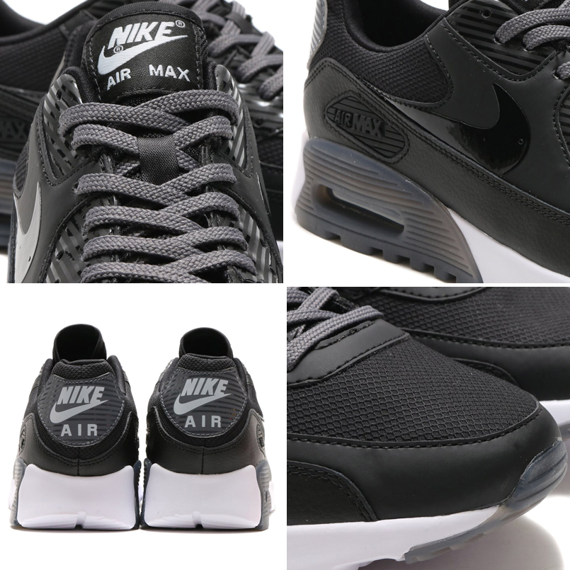 Mujeres Nike Air Max 90 De Ultra Mercado Blanco Y Negro joAMLZP