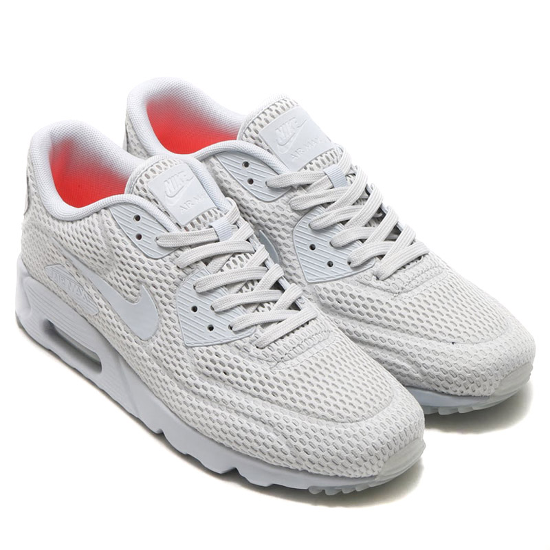 902abf1473 NIKE AIR MAX 90 ULTRA BR (Nike Air Max 90 ultra Breeze) PURE PLATINUM ...