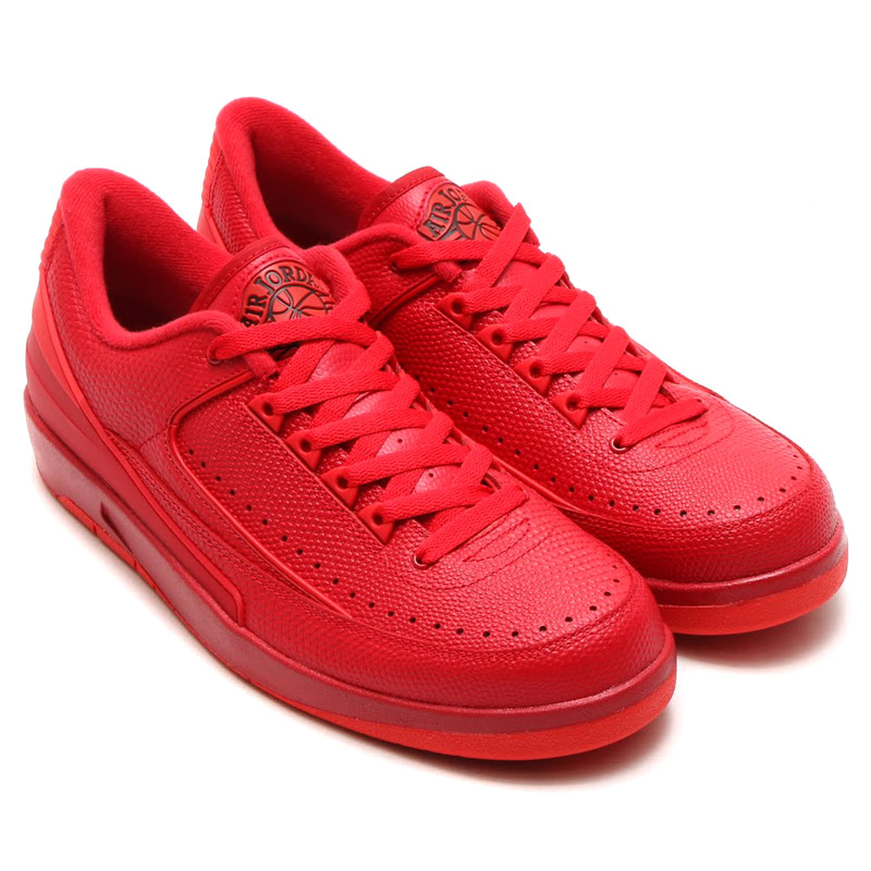 ae6835f9b2bf NIKE AIR JORDAN 2 RETRO LOW (Nike Air Jordan 2 retro low) GYM RED UNIVERSITY  RED-HYPER TURQ 16SU-S