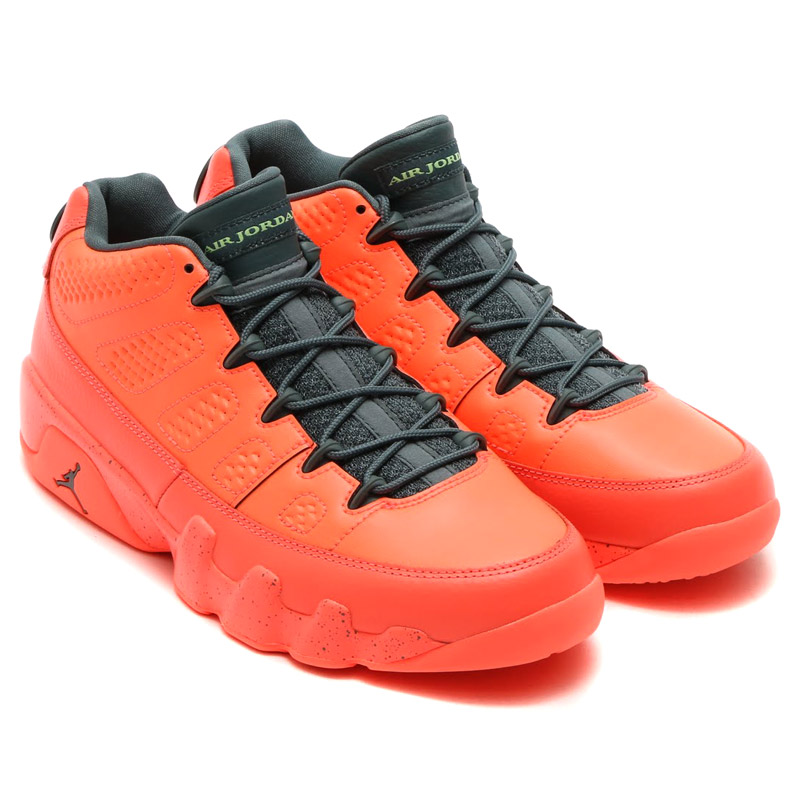 cheap for discount edf58 54830 discount code for orange green mens air jordan retro 9 shoes ...