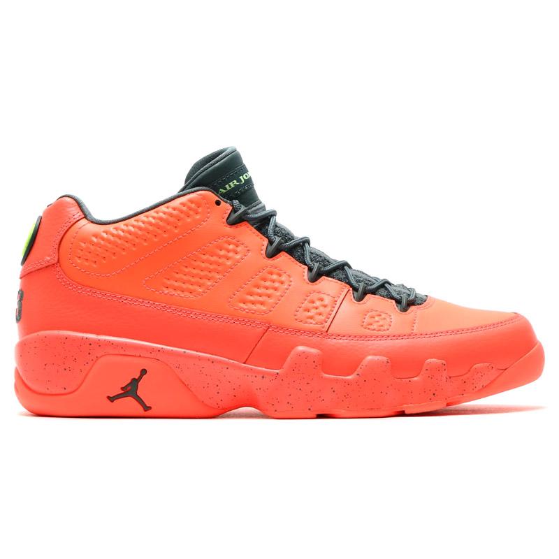 4e4893ecf1d23a NIKE AIR JORDAN 9 RETRO LOW (Nike Air Jordan 9 retro low) BRIGHT MANGO HASTA -GHOST GREEN 16SU-S