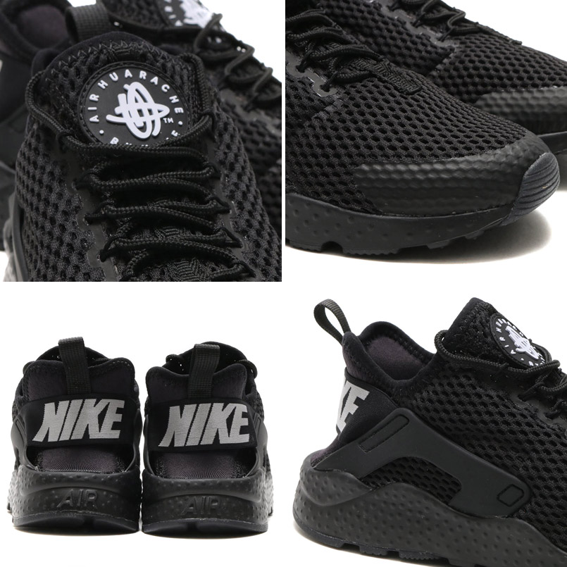 the best attitude 6e072 54757 NIKE WMNS AIR HUARACHE RUN ULTRA BR (Nike wmns air halti run ultra Breeze)  BLACK BLACK 16SU-I