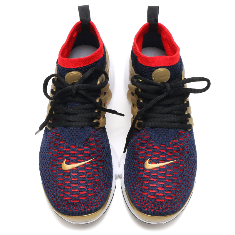 4c2d332b738f NIKE AIR PRESTO FLYKNIT ULTRA (Nike Air Presto Flint ultra) COLLEGE NAVY COMET  RED-METALLIC GOLD-WHITE-BLACK-WOLF GREY 16FA-I