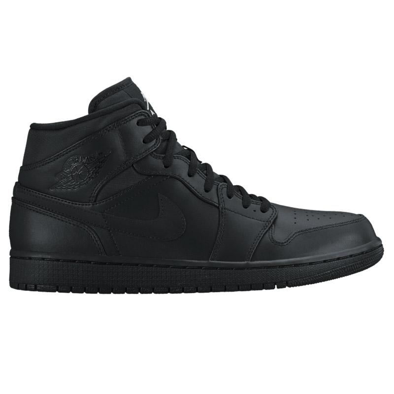new arrival 7bf47 20e9a NIKE AIR JORDAN 1 MID (Nike Air Jordan 1 mid) BLACK WHITE CRYOVR