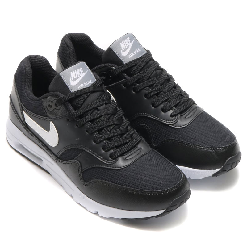 online retailer 21e70 c1f6a NIKE WMNS AIR MAX 1 ULTRA ESSENTIALS (essential Nike wmns Air Max 1 ultra)  BLACK WHITE-STEALTH-PURE PLATINUM 16SP-I