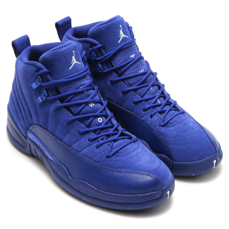 buy popular 1579c f7014 NIKE AIR JORDAN 12 RETRO (Nike Air Jordan 12 retro) DEEP ROYAL BLUE  ...
