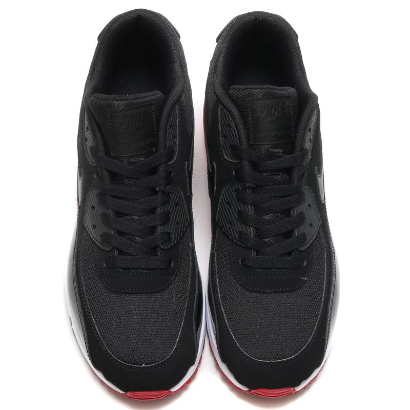 Nike Air Max 90 Blanco Rojo Negro Esencial rwV38f