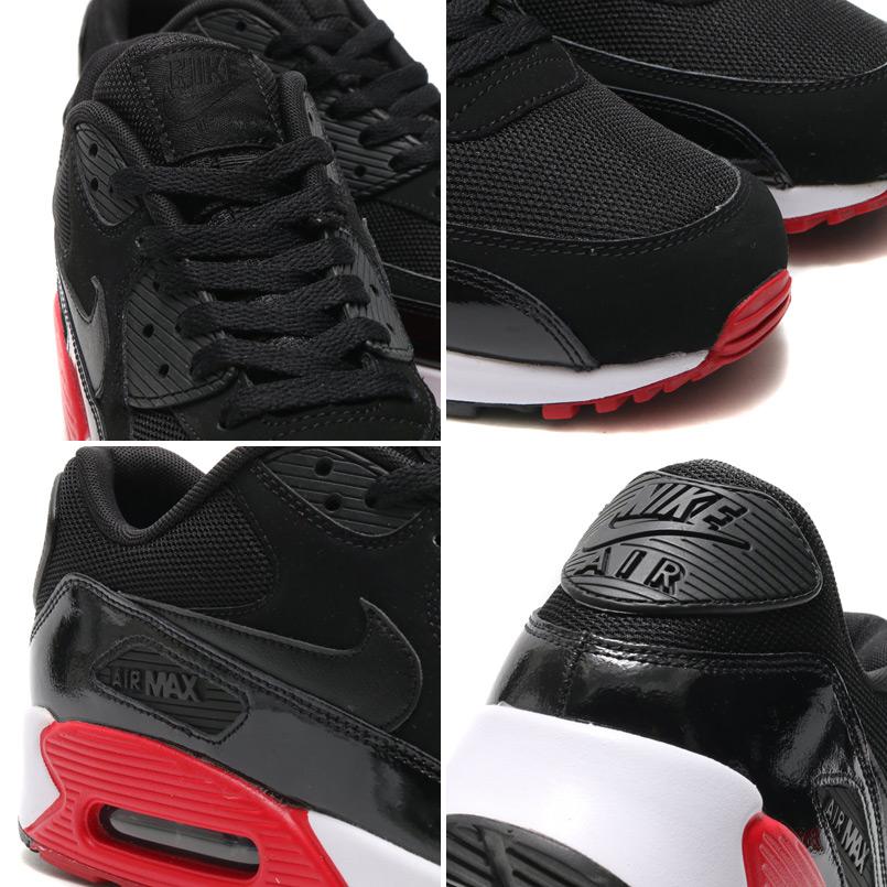 Nike Air Max 90 Avgjørende Svart Og Rød CH0QV