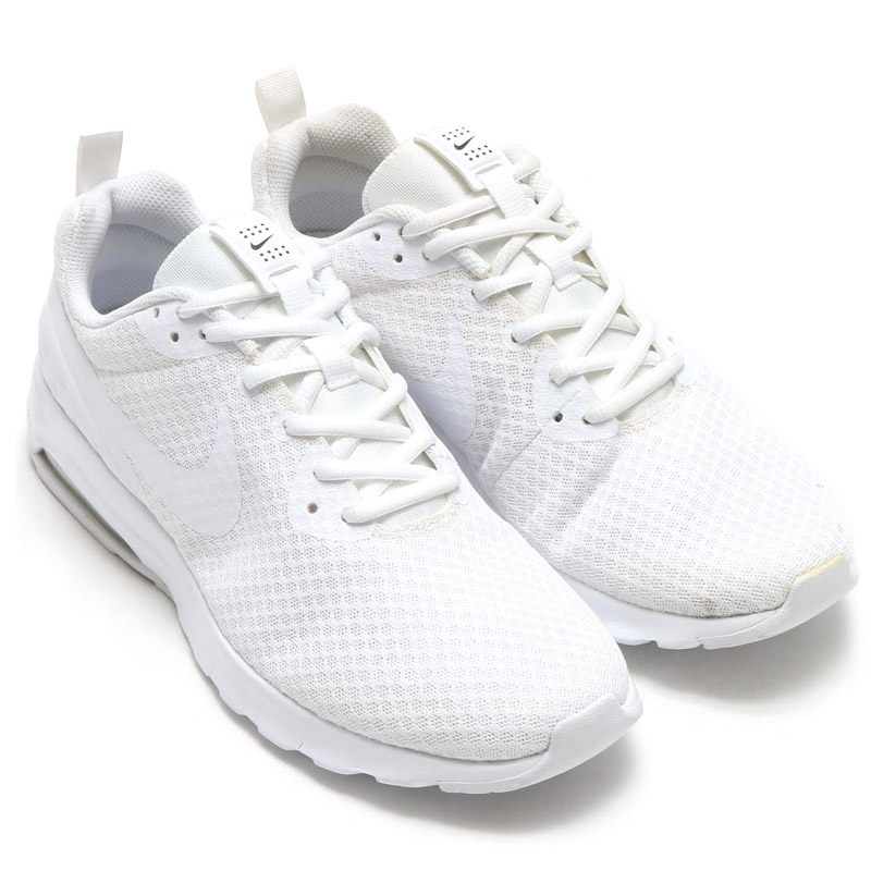 timeless design c84f5 b2d03 NIKE AIR MAX MOTION LW (Nike Air Max motion LW) WHITEWHITE- ...