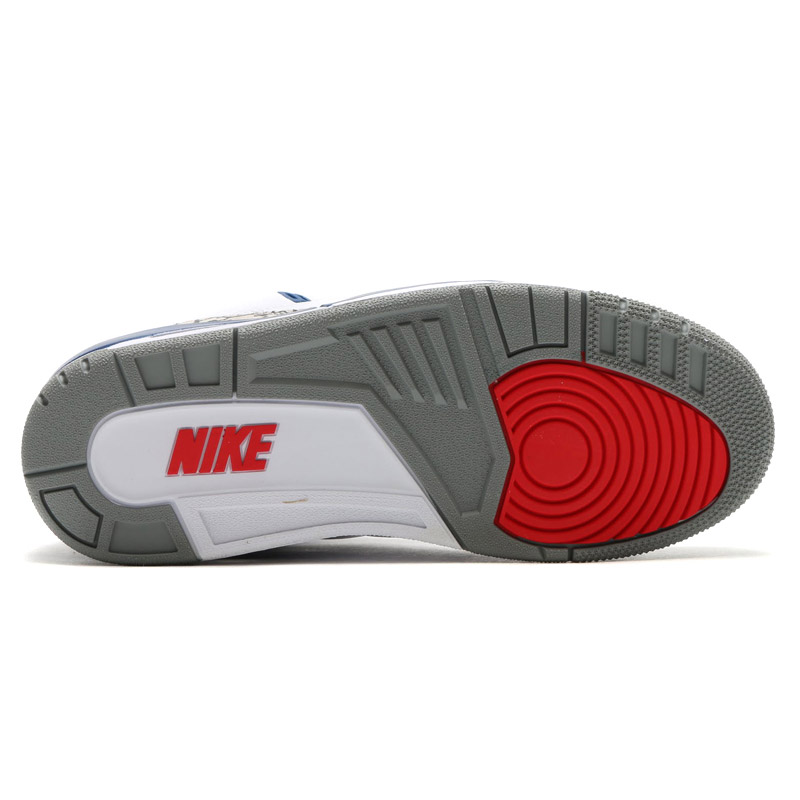 NIKE AIR JORDAN 3 RETRO OG (Nike Air Jordan 3 retro OG) WHITE/FIRE RED-TRUE  BLUE-CEMENT GREY 16HO-S