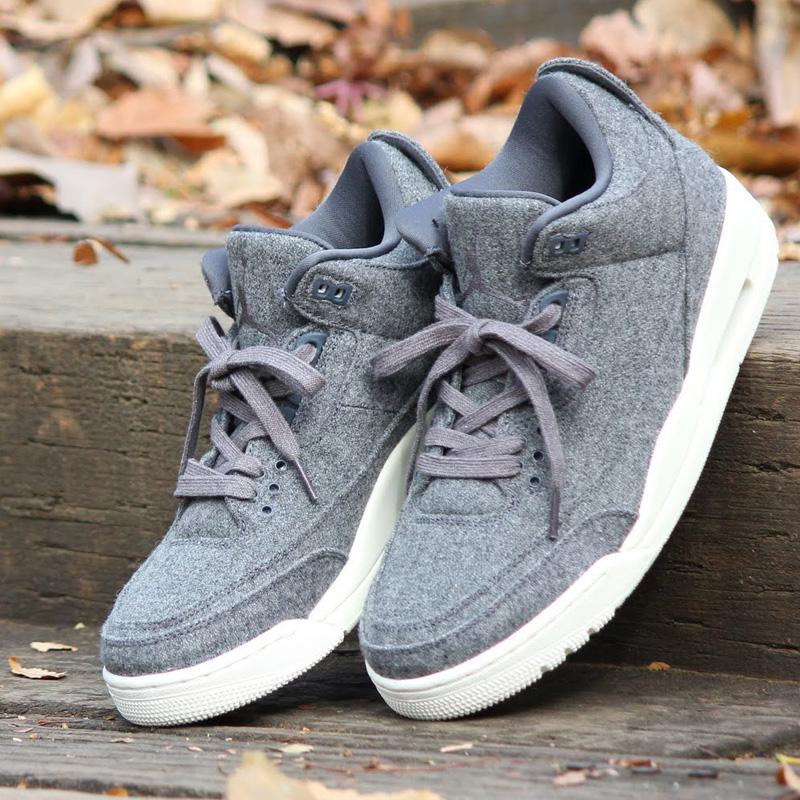 b552486a5a4 atmos-tokyo: NIKE AIR JORDAN 3 RETRO WOOL (Nike Air Jordan 3 nostalgic wool)  DARK GREY/DARK GREY-SAIL 16HO-S | Rakuten Global Market