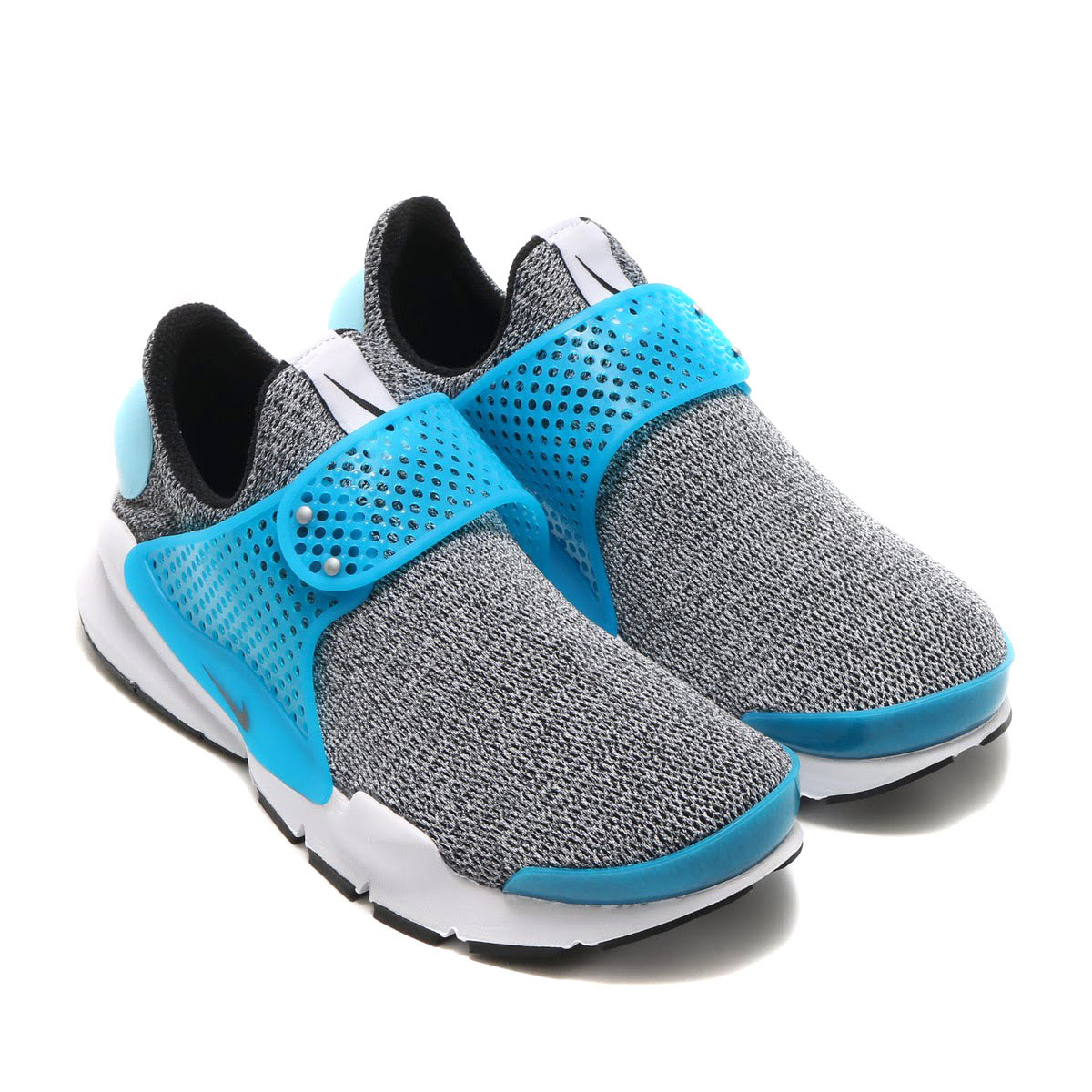 NIKE WMNS SOCK DART SE(ナイキ ウィメンズ ソック ダート SE)BLACK/BLACK-BLUE LAGOON-WHITE-STILL BLUE-METRO GREY【メンズ レディース スニーカー】17SP-S