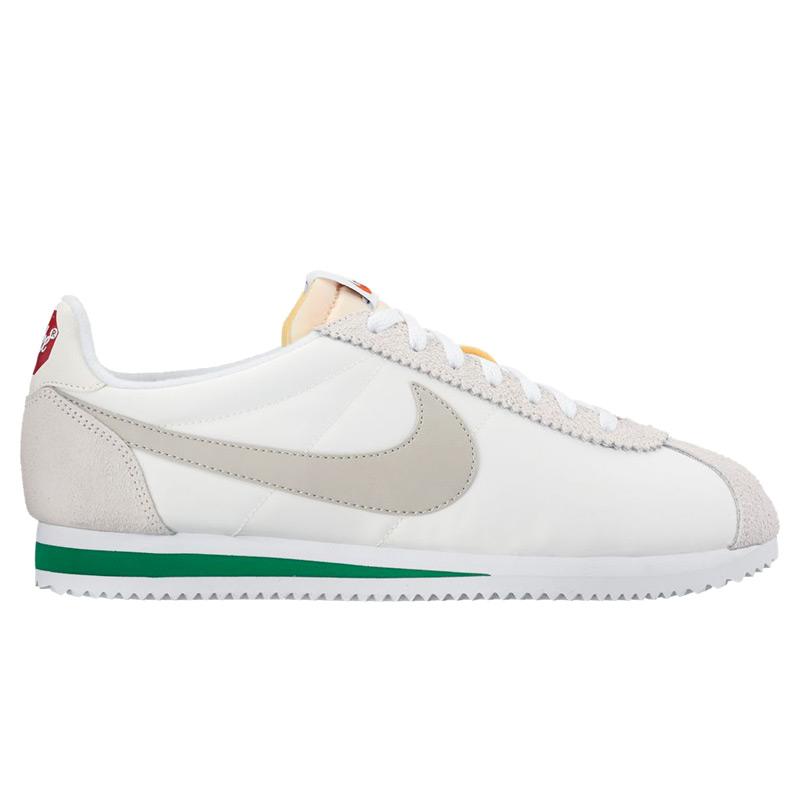 best cheap 75d45 2df09 NIKE CLASSIC CORTEZ NYLON PREM (Nike classic Cortez nylon premium)  IVORY PALE GREY ...