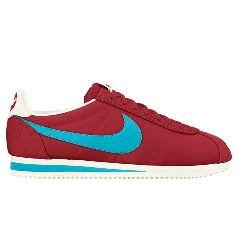 online store bab36 5067d NIKE CLASSIC CORTEZ NYLON PREM (Nike classic Cortez nylon premium) VARSITY  RE/CHLORINE BLUE-SAIL 17SP-I