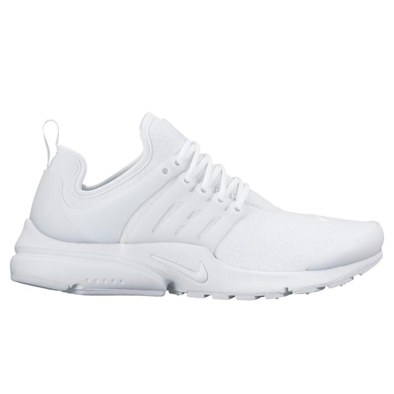 9dd3552e5e8f NIKE W AIR PRESTO PRM (Nike Womens Presto premium) WHITE WHITE-WOLF GREY  17SP-I