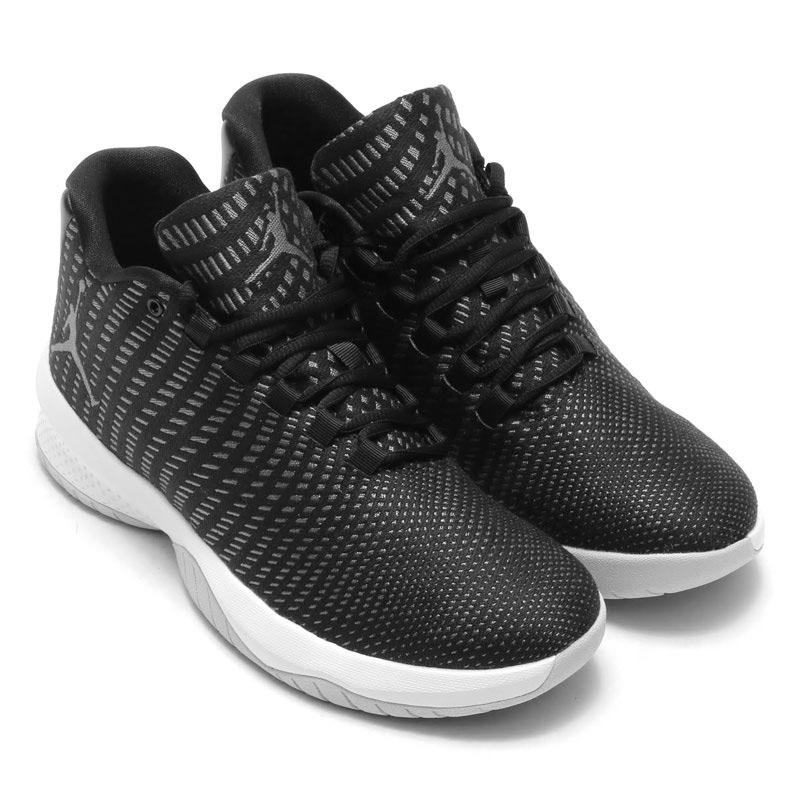 0a95f354a4b91 NIKE JORDAN B. FLY (Nike Jordan B.FLY) BLACK WHITE-DK GREY-PURE PLATINUM  17SP-I