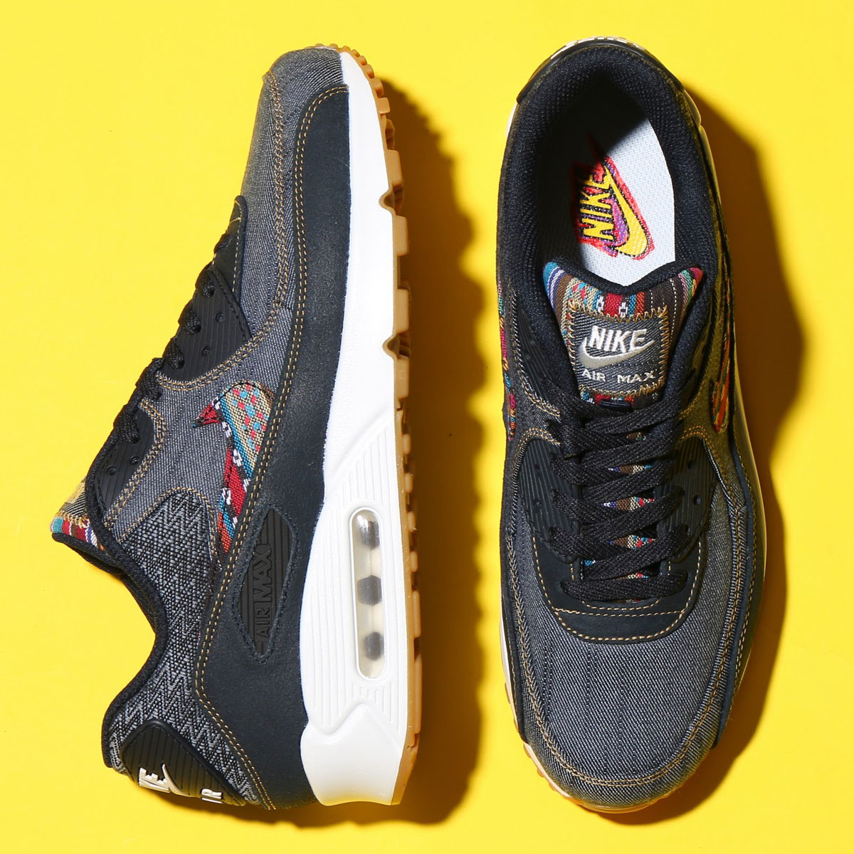 uk availability f8388 fa30c NIKE AIR MAX 90 PREMIUM (Kie Ney AMAX 90 premium) DARK OBSIDIAN DARK ...