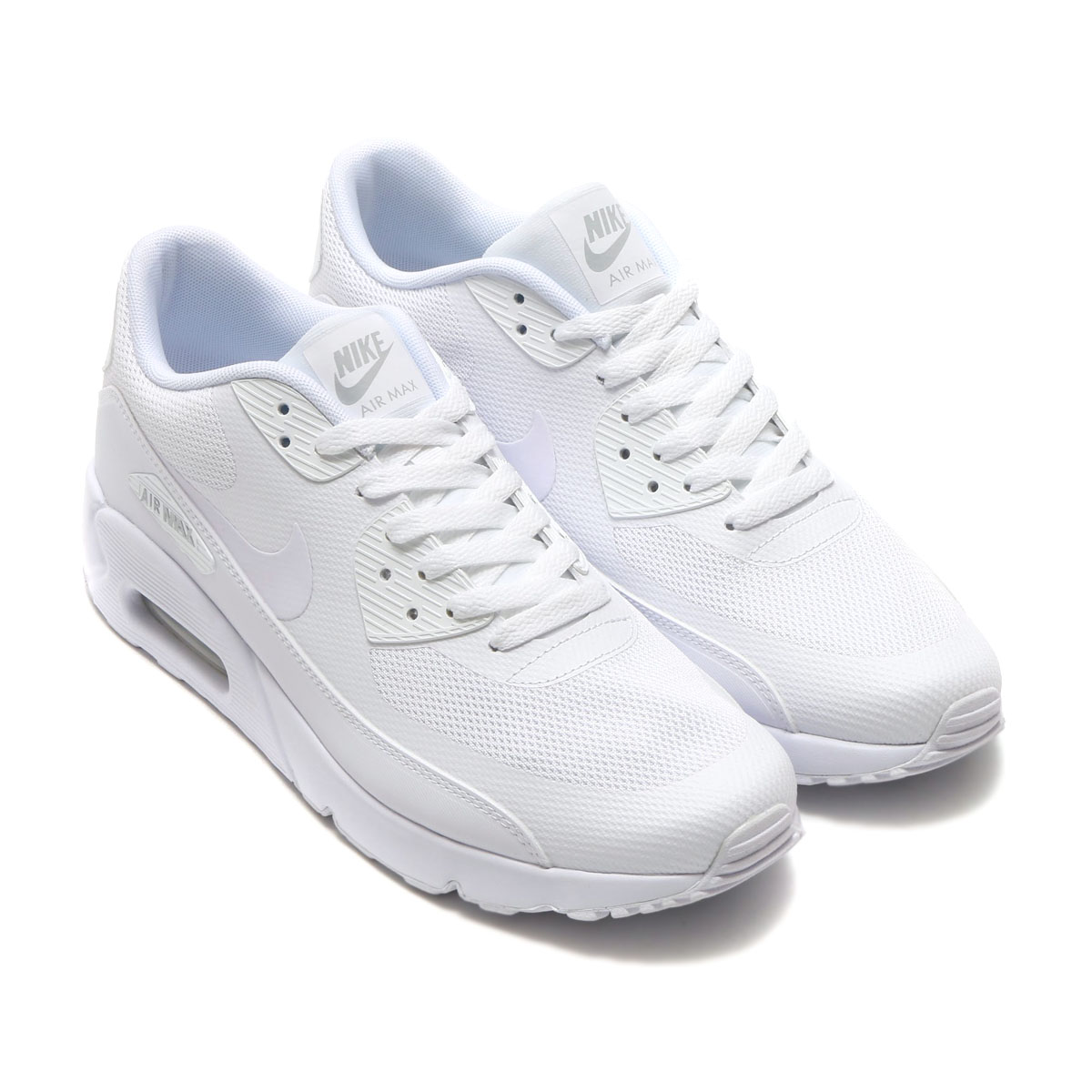 8c2db0a6d0f03 NIKE AIR MAX 90 ULTRA 2.0 ESSENTIAL (Nike Air Max 90 Ultra 2.0 essential)  WHITE WHITE-WHITE-PURE PLATINUM 17SP-I