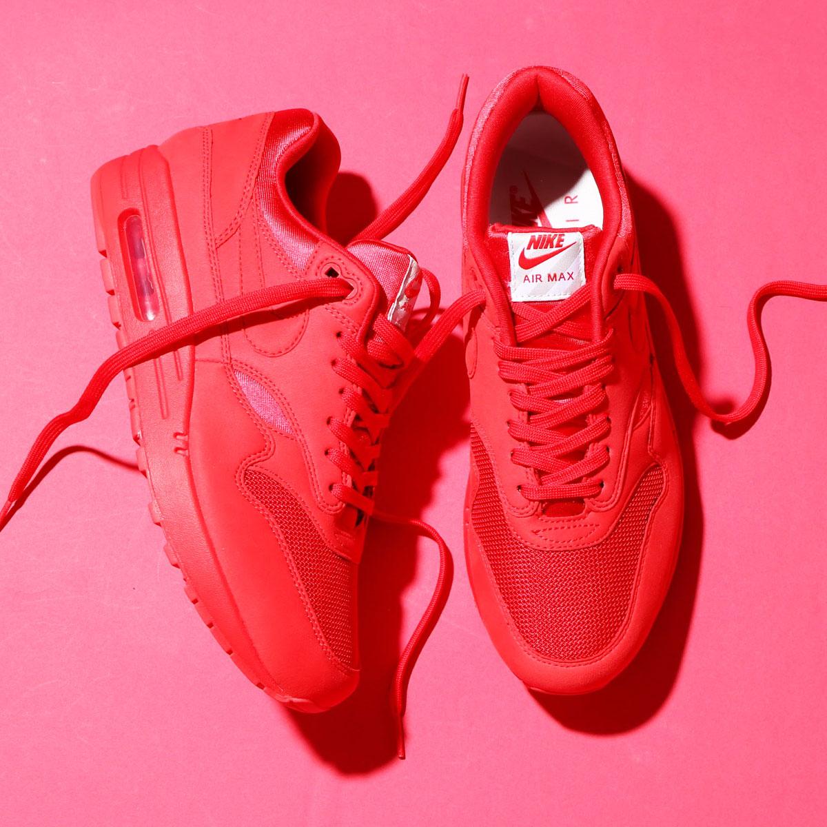 sports shoes 1312c bdce3 NIKE AIR MAX 1 PREMIUM (Kie Ney AMAX 1 premium) UNIVERSITY RED UNIVERSITY  RED 17SU-S