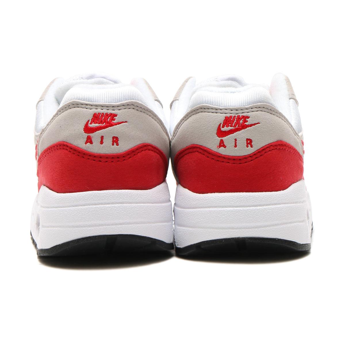Nike Air Max 1 QS (ps) WhiteUniversity Red Neutral Grey Black 919891 101