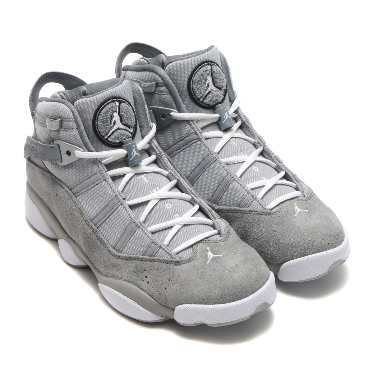 NIKE JORDAN 6 RINGS (ナイキ ジョーダン 6 リングス) MATTE SILVER/WHITE-COOL GREY-BLACK【メンズ スニーカー】17SU-S