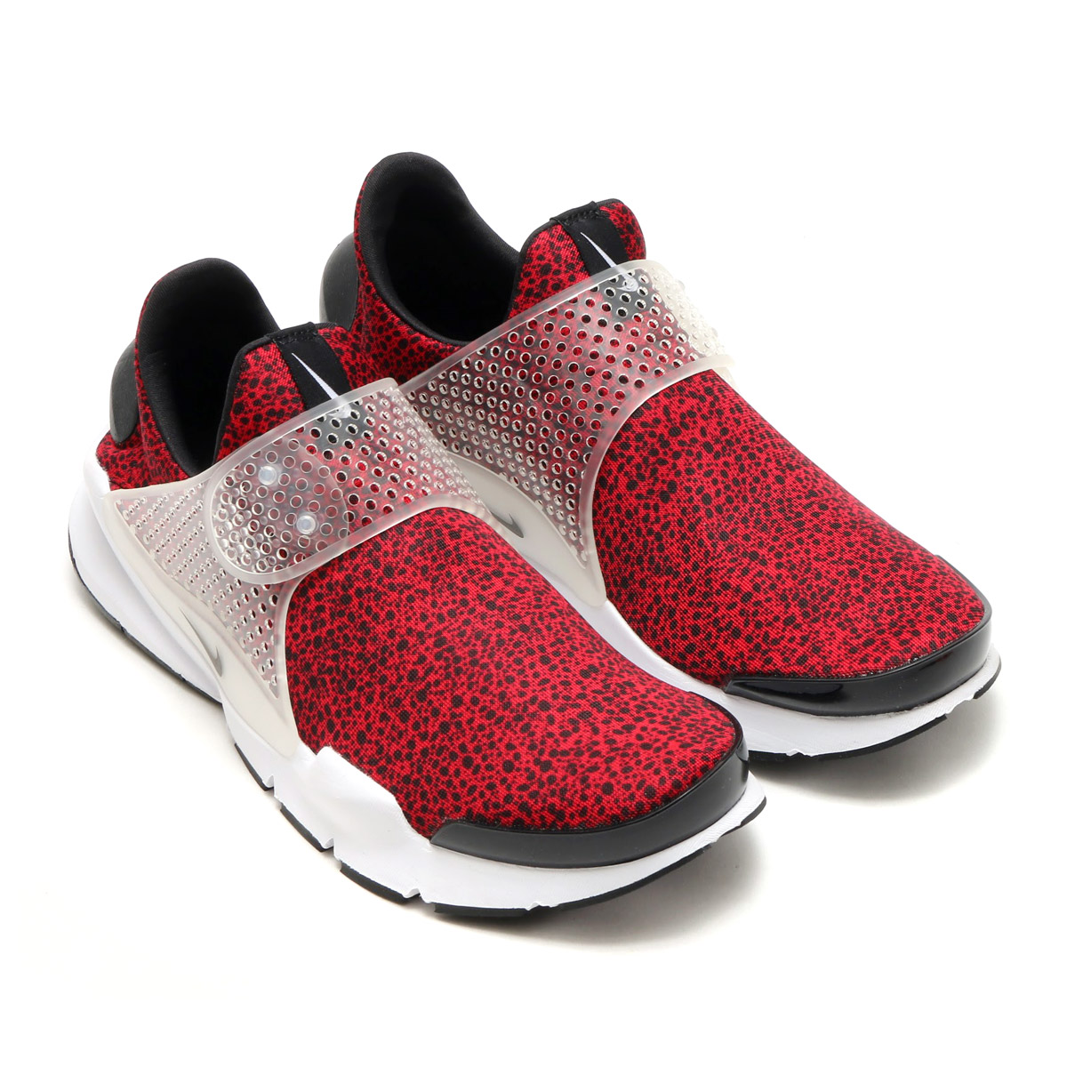 online store dc7f6 3a945 NIKE SOCK DART QS (ナイキソックダート QS) GYM RED/BLACK-WHITE 17SU-S