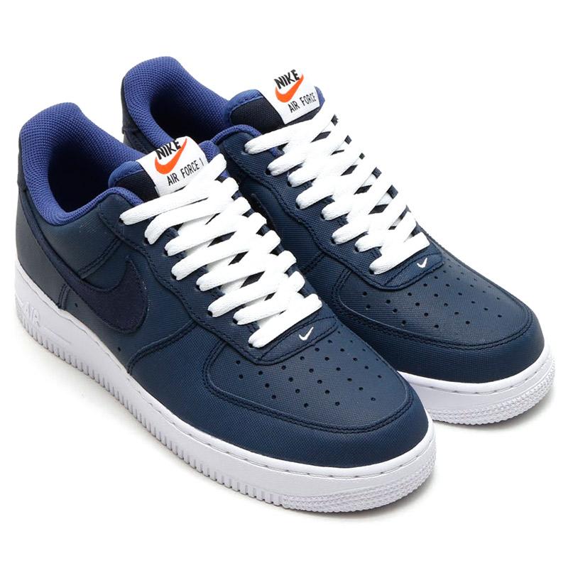 Nike Air Force 1 Obsidienne Bleu Blanc
