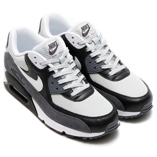 Nike Air Max 90 Niebla Gris Negro Blanco Esencial De Estar w12ywy3t