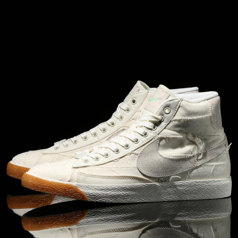buy online 70c65 73a97 NIKE BLAZER MID PRM VNTG QS (vintage the Nike Blazer mid premium QS)  SAILSL-ENML GRN-GM a LGHT BRWN 15HO-S