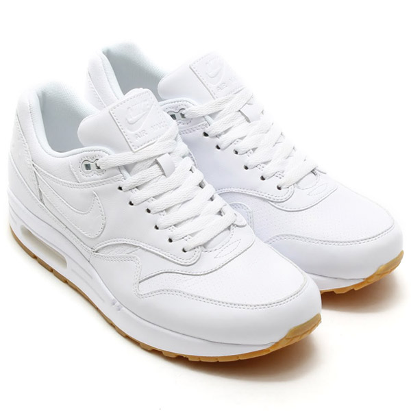 nike air max 1 leather pa triple white huarache