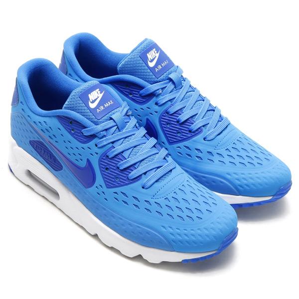 super popular 80193 a3000 NIKE AIR MAX 90 ULTRA BR (Nike Air Max 90 ultra BR) LIGHT PHOTO BLUE GAME  ROYAL-WHITE 15SU-S