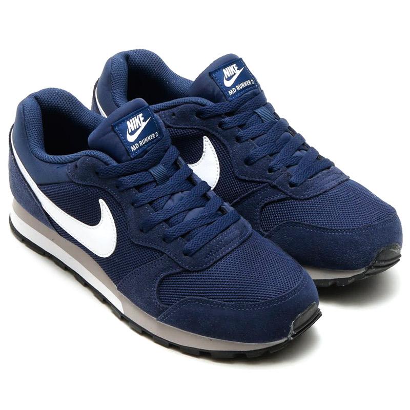 b969b43752707 atmos-tokyo  NIKE MD RUNNER 2 (Nike mid runner 2) MIDNIGHT NAVY ...