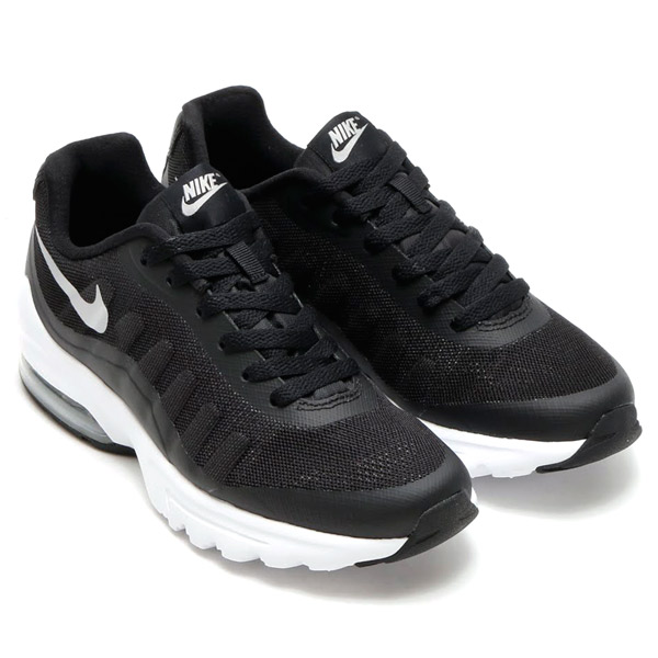 promo code 0143f 47133 NIKE WMNS AIR MAX INVIGOR (Nike womens Air Max in bigger) BLACKMETALLIC  SILVERWHITE 15FA-I