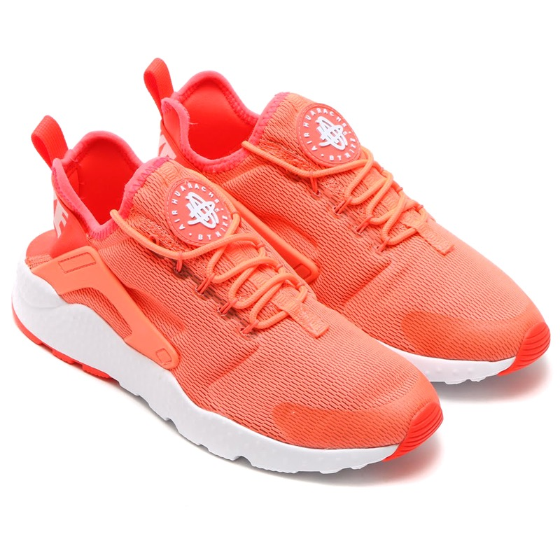 d57de1f063e48 NIKE WMNS AIR HUARACHE RUN ULTRA (Nike wmns air halti run ultra) BRIGHT  MANGO WHITE 16SP-I