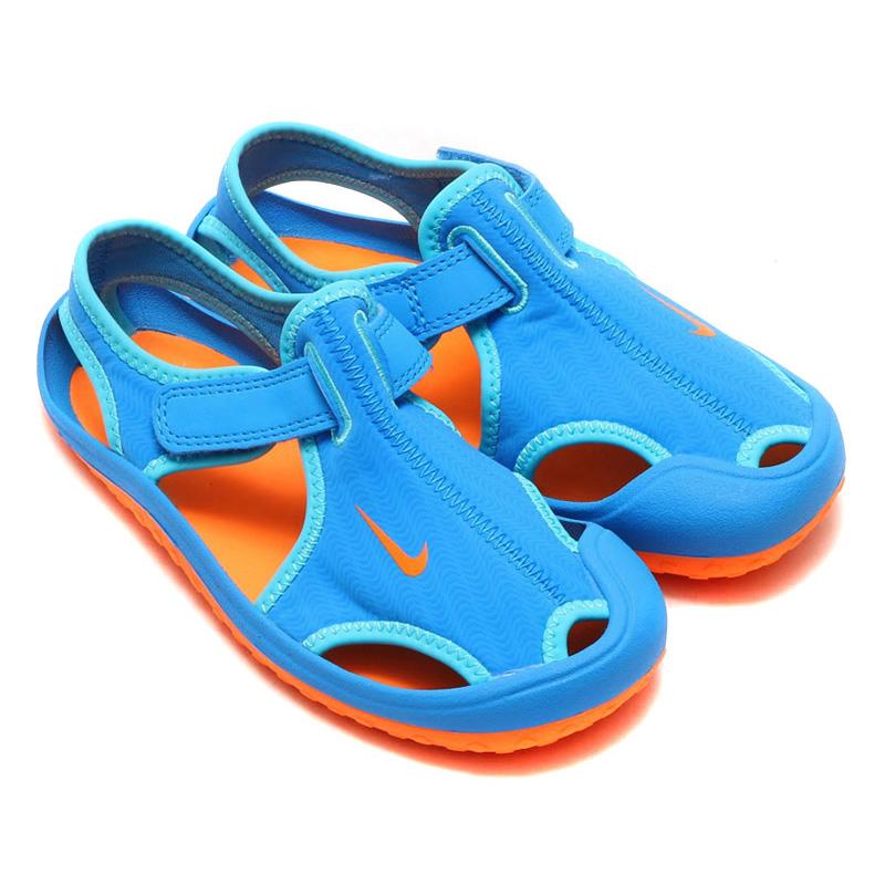 753e16ab6294 NIKE SUNRAY PROTECT PS (Nike Sunray protect PS) PHOTO BLUE TOTAL  ORANGE GAMMA BLUE 16SU-I