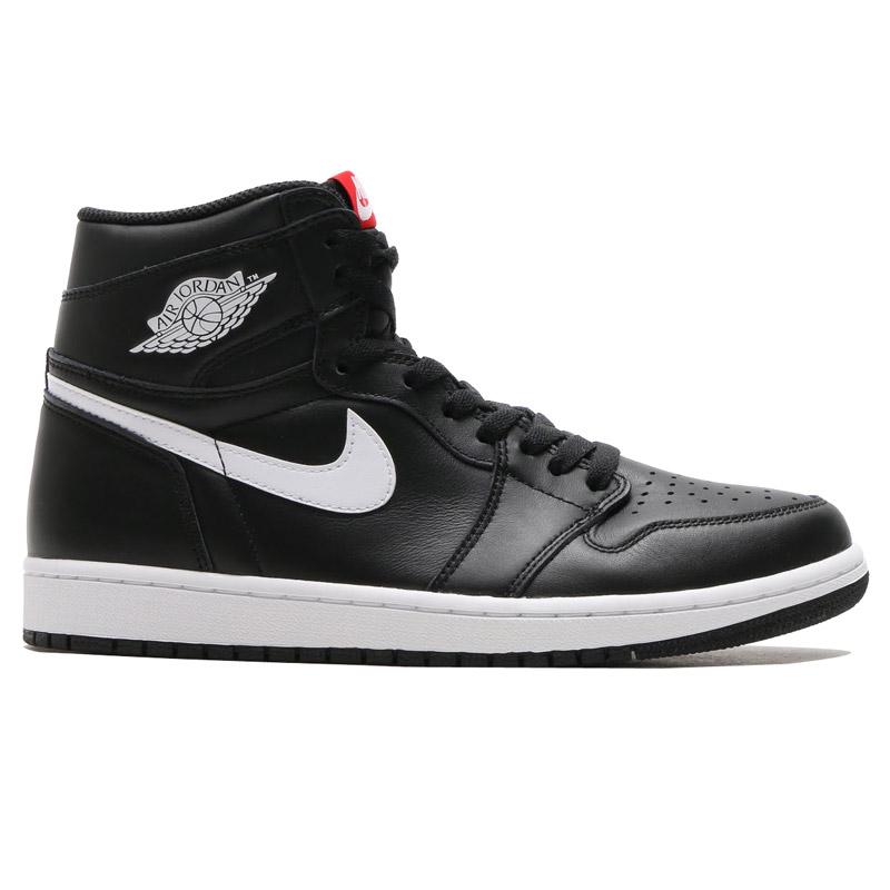 Nike Air Jordan 1 Retro De Alta Og Negro / Blanco / Negro nVIVvKeVD