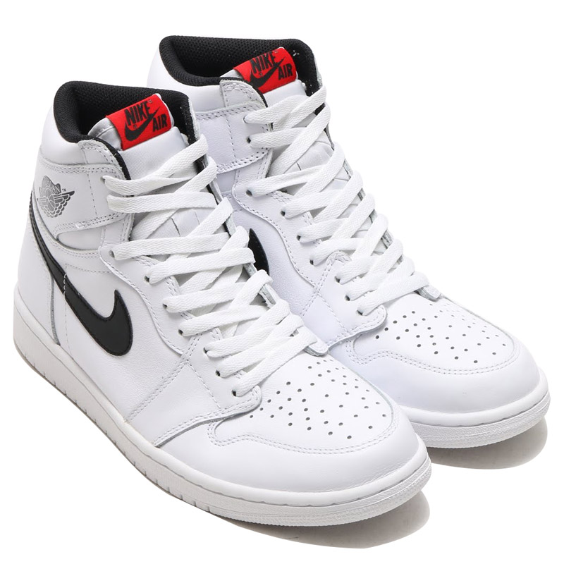 262c8bdb5617 NIKE AIR JORDAN 1 RETRO HIGH OG (Nike Air Jordan 1 retro Hi OG) WHITE BLACK- WHITE 16FA-I