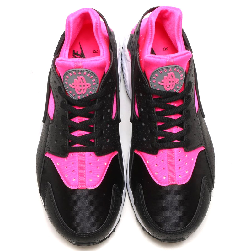 innovative design 9787c b1ce4 NIKE WMNS AIR HUARACHE RUN (Nike wmns air halti run) PINK BLAST BLACK 16SU-I