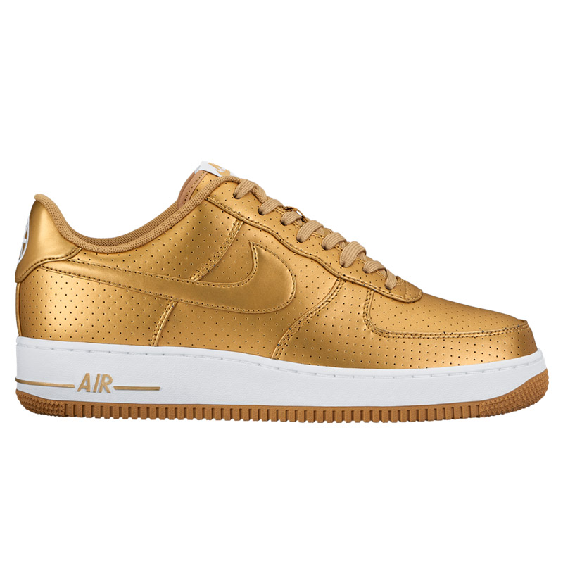 nike air force 1 07 gold