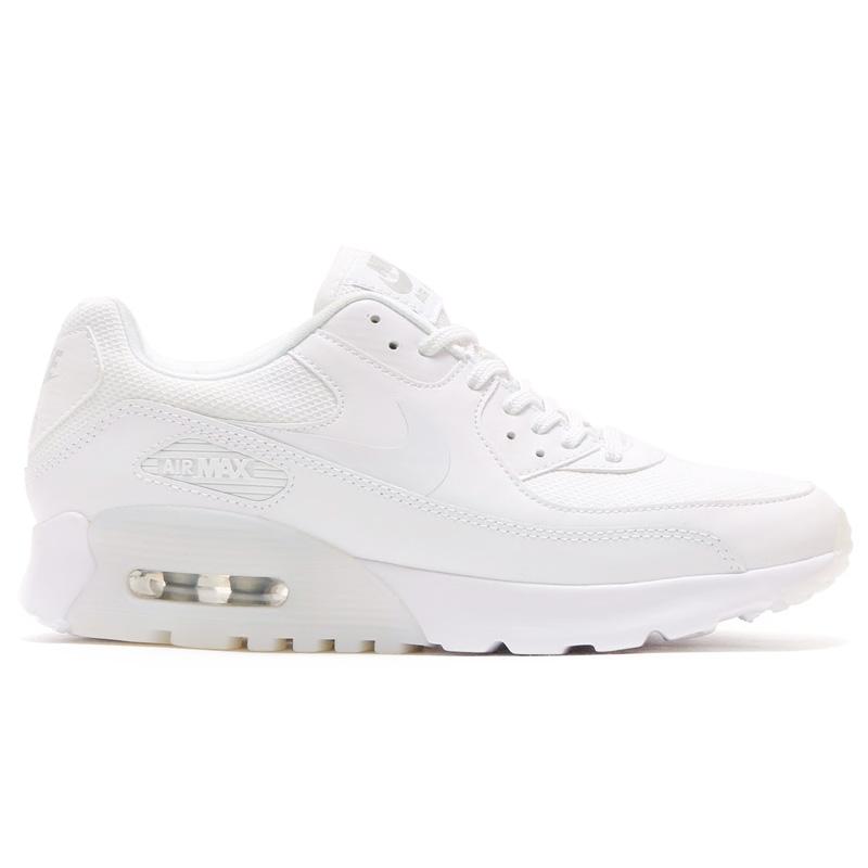 best sneakers 3d05d 94931 NIKE WMNS AIR MAX 90 ULTRA ESSENTIAL (Nike women s Air Max 90 ultra  essential) WHITE WHITE-METALLIC SILVER 16HO-I