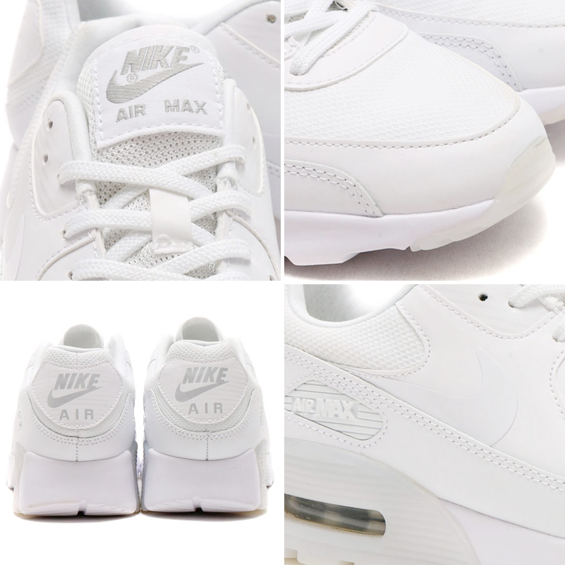 best sneakers 88ef6 bccd8 NIKE WMNS AIR MAX 90 ULTRA ESSENTIAL (Nike women s Air Max 90 ultra  essential) WHITE WHITE-METALLIC SILVER 16HO-I