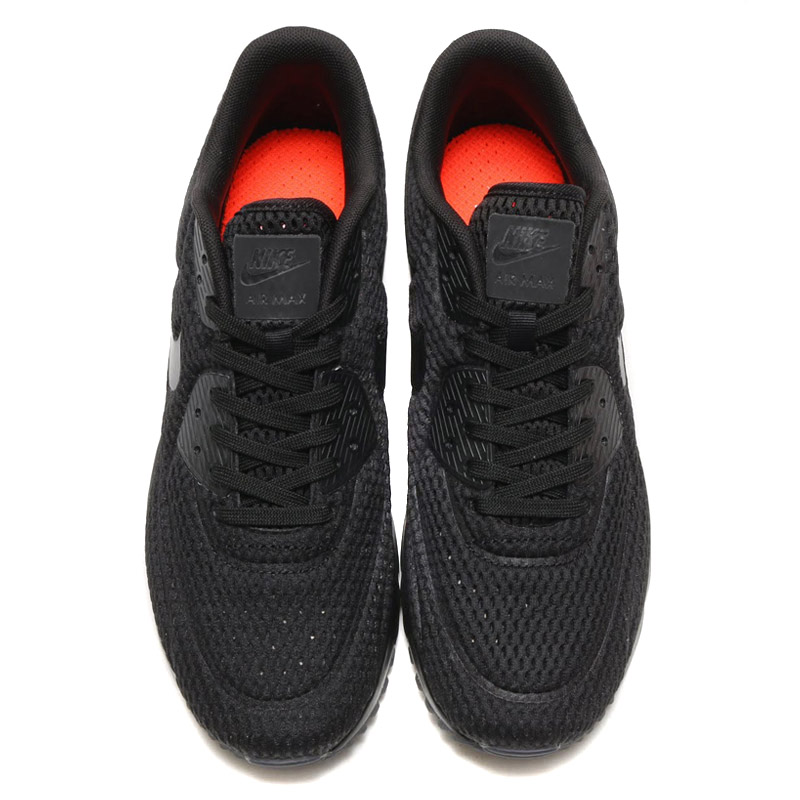 promo code 5b64d 3809d NIKE AIR MAX 90 ULTRA BR (Nike Air Max 90 ultra Breeze) BLACK BLACK-BLACK-TOTAL  CRIMSON 16SU-I