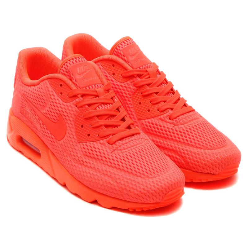 ... 725222-800 NIKE AIR MAX 90 ULTRA BR (Nike Air Max 90 ultra Breeze)  TOTAL CRIMSON ... 4bc93cc1b